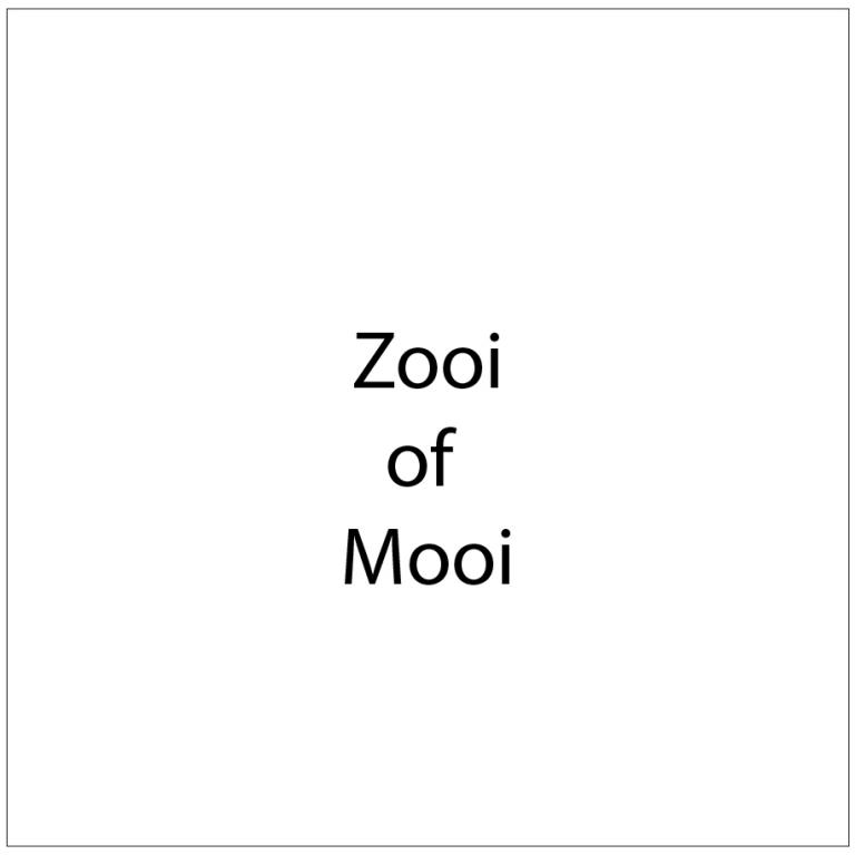 Zooi of Mooi